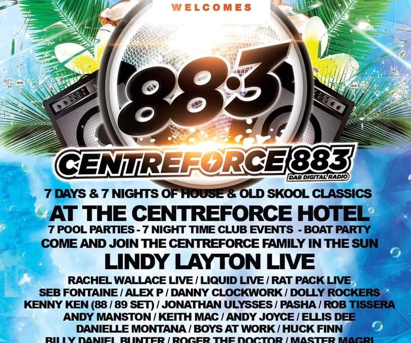 Centreforce Line Up Announced For Unity in the Sun 2020!!