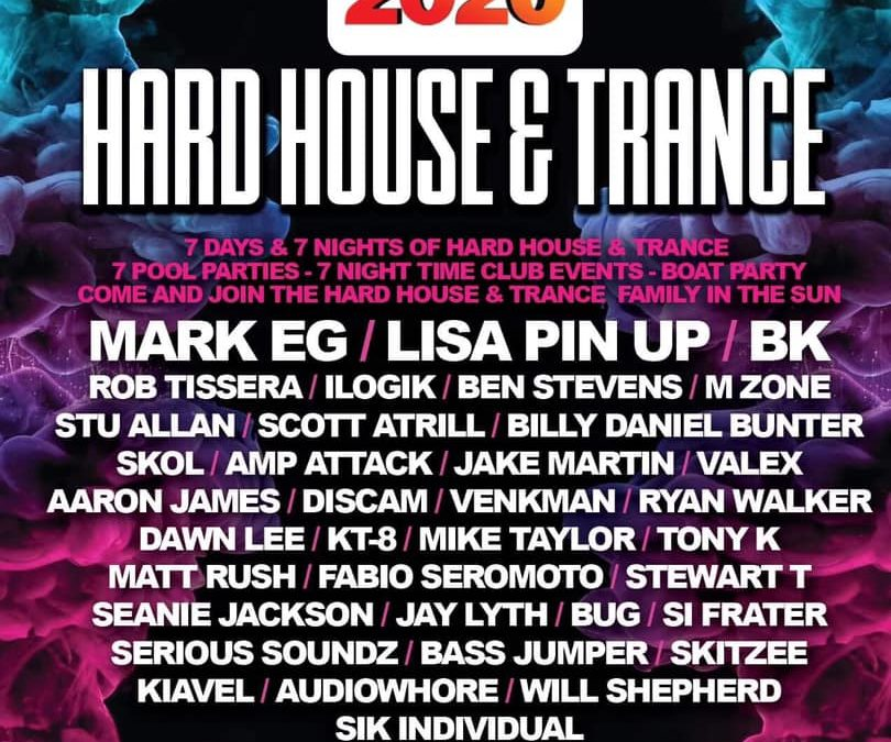 Hard House & Trance Unity 2020 Line Up Announced!
