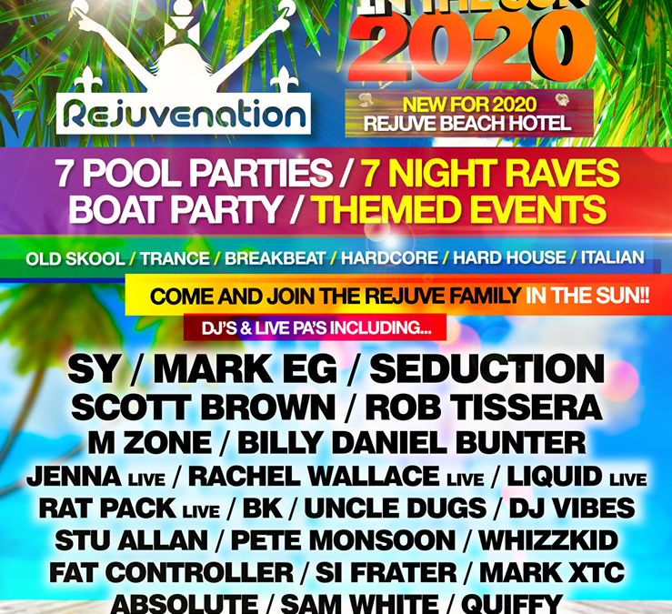 Rejuve at Unity 2020 Line Up Announcement!